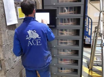 Des distributeurs automatisés de consommables de fabrication
